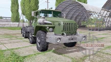 Ural 6614 es un gestor de para Farming Simulator 2017