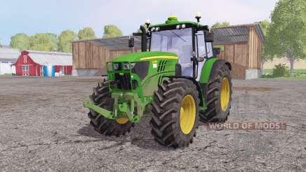 John Deere 6140M front loader para Farming Simulator 2015