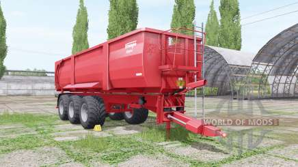 Krampe Big Body 900 edit Xelma para Farming Simulator 2017