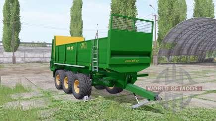 ZDT RM 25 para Farming Simulator 2017