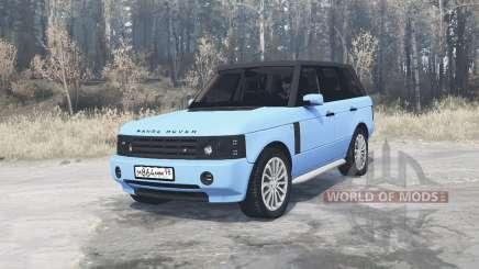 Land Rover Range Rover Sport (L320) Pontorezka para MudRunner