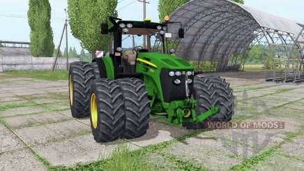 John Deere 7930 twin wheels Trelleborg para Farming Simulator 2017