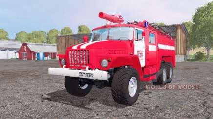Ural 5557 ATS-5.5-40 para Farming Simulator 2015