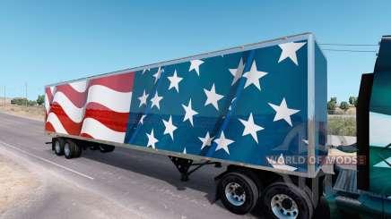 USA Trailer v3.1 para American Truck Simulator