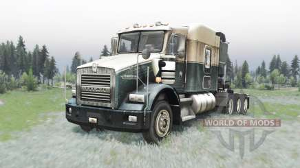 Kenworth T800 4-axes para Spin Tires
