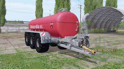 Rekordia Tridem MXXL PW v1.1.0.3 para Farming Simulator 2017