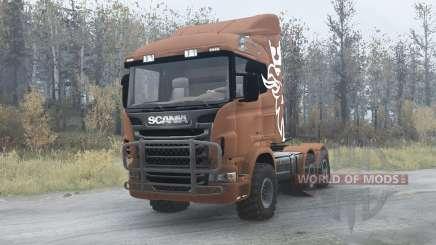 Scania R730 para MudRunner