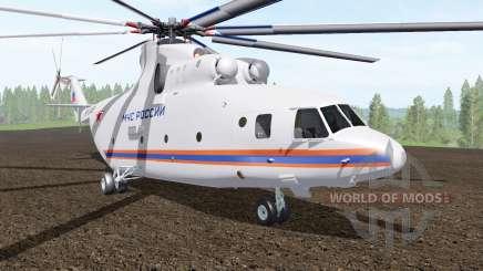 Mi-26T del Ministerio de situaciones de emergencia de Rusia para Farming Simulator 2017