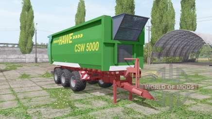 Hawe CSW 5000 para Farming Simulator 2017