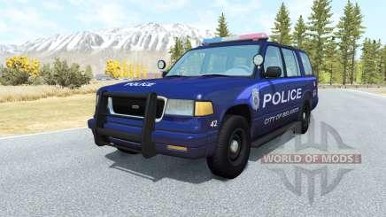 Gavril Roamer Belasco Police v1.1 para BeamNG Drive