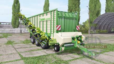Krone ZX 550 GD rake para Farming Simulator 2017