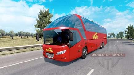 Bus traffic v4.1 para Euro Truck Simulator 2