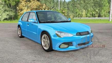 Hirochi Sunburst hatchback v1.12 para BeamNG Drive