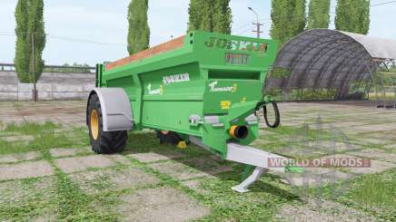 JOSKIN Tornado3 single axle para Farming Simulator 2017