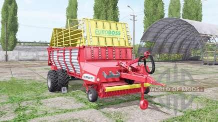POTTINGER EUROBOSS 330 T twin tires v2.0 para Farming Simulator 2017
