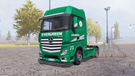 Mercedes-Benz Actros (MP4) Evergreen para Farming Simulator 2013