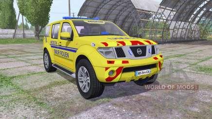 Nissan Pathfinder (R51) 2004 SAMU para Farming Simulator 2017