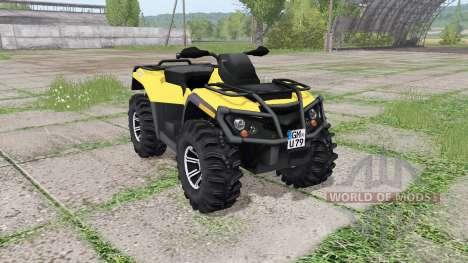 Can-Am Outlander 1000 XT para Farming Simulator 2017