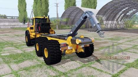 Volvo A40G FS para Farming Simulator 2017