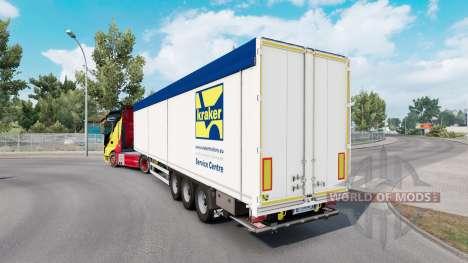 Kraker Trailer para Euro Truck Simulator 2