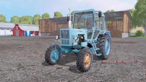MTZ-82.1 Belarús azul para Farming Simulator 2015