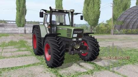 Fendt Favorit 515C para Farming Simulator 2017
