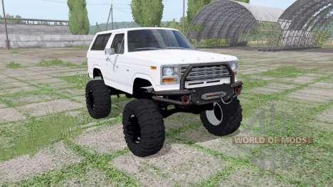 Ford Bronco para Farming Simulator 2017