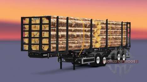 Metalesp Bitrem Florestal para Euro Truck Simulator 2