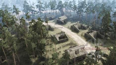 Pueblo abandonado para Spintires MudRunner