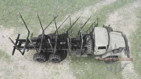 Ural 375Д alargada marco para Spintires MudRunner