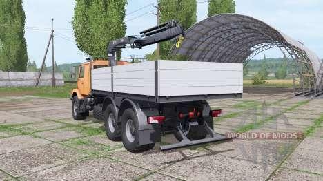 Mercedes-Benz Zetros para Farming Simulator 2017