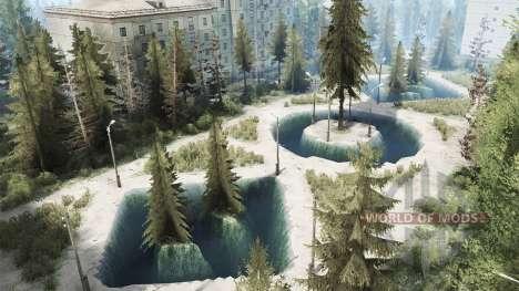 Ciudad abandonada para Spintires MudRunner