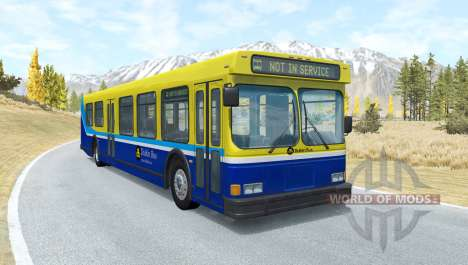 Wentward DT40L Dublin Bus para BeamNG Drive