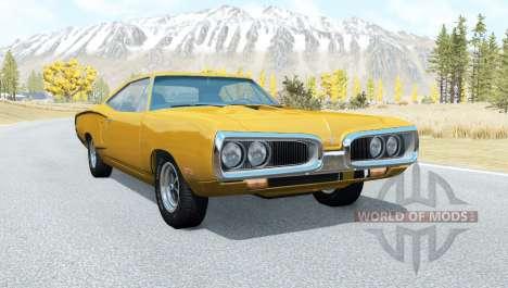 Dodge Coronet Super Bee (WM21) 1969 para BeamNG Drive