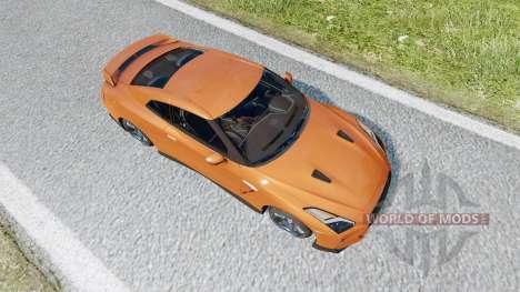 Nissan GT-R (R35) 2017 v2.0 para Euro Truck Simulator 2