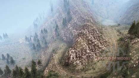 La luna 10 - American Wilds para Spintires MudRunner