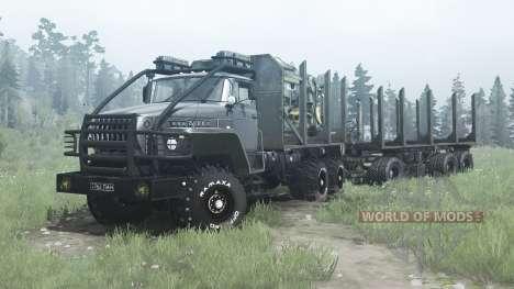 Ural 43204-31 para Spintires MudRunner