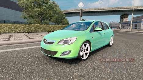 Opel Astra para Euro Truck Simulator 2