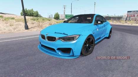 BMW M4 coupe (F82) v2.0 para American Truck Simulator