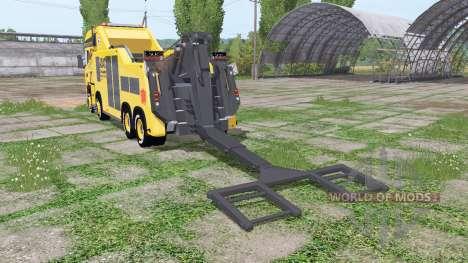 Scania R500 tow truck para Farming Simulator 2017