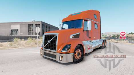 Volvo VT880 Raised-Roof Sleeper cab v1.4.1 para American Truck Simulator