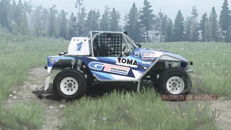 Toyota Land Cruiser Serigala Militia para Spintires MudRunner