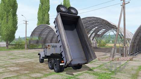KrAZ 256БС para Farming Simulator 2017