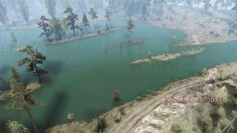 La aventura en el agua para Spintires MudRunner