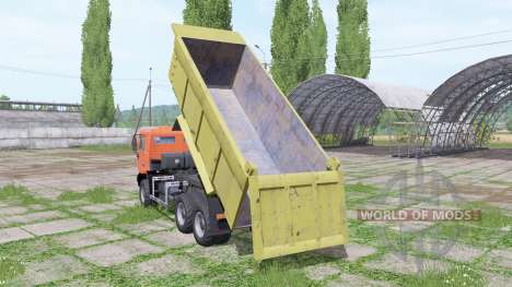 Shacman F2000 para Farming Simulator 2017