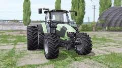 Deutz-Fahr 5110 TTV v1.2 para Farming Simulator 2017