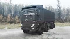 Mercedes-Benz Actros (MP4) 8x8 v3.0 para MudRunner