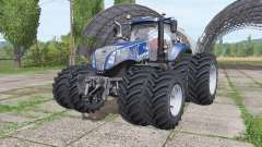 New Holland T8.380 Blue Power v2.0 para Farming Simulator 2017