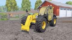 JCB 536-70 rear hydraulics para Farming Simulator 2015
