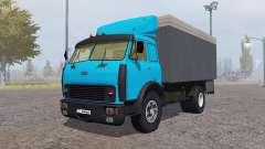 MAZ 500 contenedor azul para Farming Simulator 2013